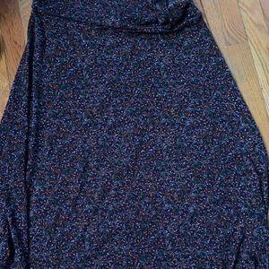 LuLaRoe XL maxi skirt. EUC